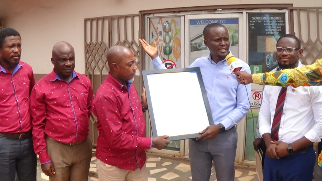 Just in Kessben driving school receives their first ever citation awards from the newly created university AAMUSTED
